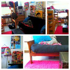 Dorm room #dorm #room #dormroom #college college college decorations designs rooms girls dorm room ideas. COOLEST DORM EVER.