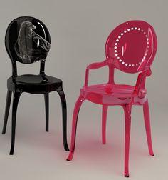 Furniture modern day baroque on pinterest for Plastic baroque furniture