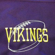 Go #Vikings! Thirty One Spirit Collection Navy tote with Icon-it football. Just add $10 for Icon-it personalization.