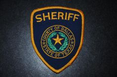 Dallas County Sheriff Patch, Texas