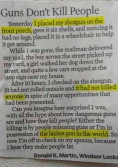 Lazy Gun!
