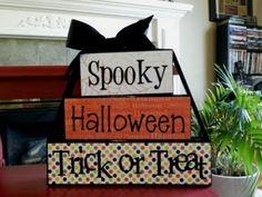 halloween 2x4 blocks
