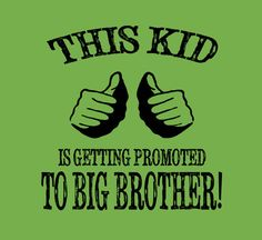 Big Brother Shirt New Baby Announcement Little Boys Promotion Tee New Big Bro T-Shirt 0 to 4T on Etsy, $14.99