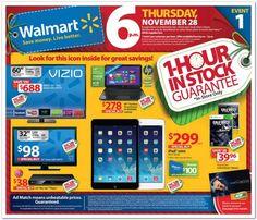 Walmart Black Friday Ad 2013