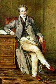 Mens' Regency clothing