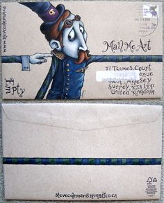 envelope art, mail me art, letter, snailmail, design art, art postal, art projects, mail art, snail mail