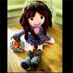 The Abigail princess of the curly kingdom Doll