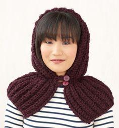Free Knitting Pattern: Hood