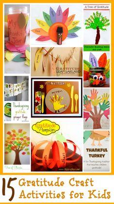 15 Gratitude Craft Activities for Kids