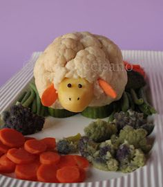 For the kids to eat more veg !