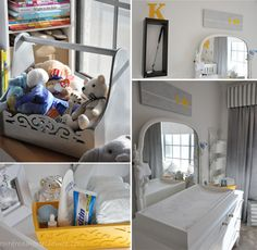 Be sure to see our awesome yellow baby room. Get more decorating ideas at http://www.CreativeBabyBedding.com