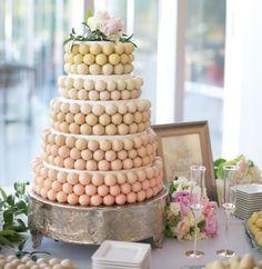 Cake Ball Wedding Cake #nutsdotcom  #wedding