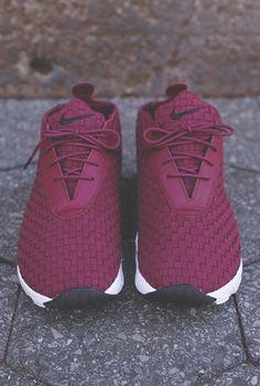 Oxblood Nike shoes