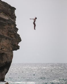 My cheap thrill!!! LOVE me some cliff jumping! You know, as long as there is water below! ;-P