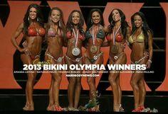 2013 Bikini Olympia Winners