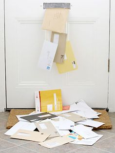 How to Reduce Paper Clutter at Home