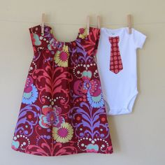 Big Sister, Little Brother Coordinating Set...this would be so cute for my big girl and baby #2