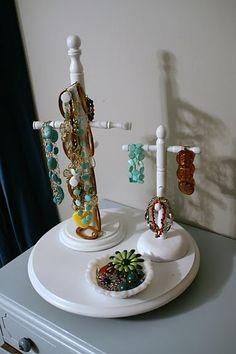 Jewelry Organizing idea #2