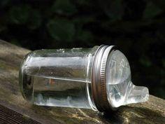 A Mason Jar Sippy Cup