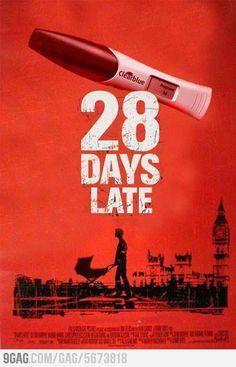 Next horror movie 9 months later