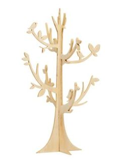 Wooden jewellery tree - $24.95 from Sussans