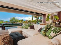 Custom dream home with panoramic ocean views in the heart of Kaanapali Hillside.