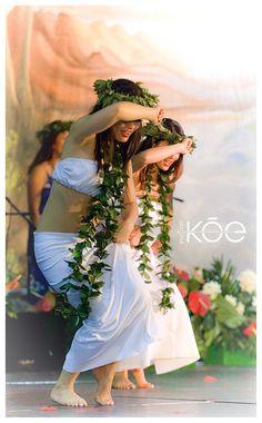 the hawaiian dancers..