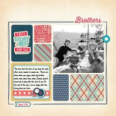 Digital Layout by Claudia Harvey for Samantha Walker September Creative Team Blog Hop