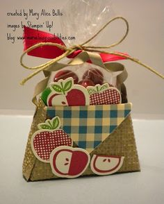 Marvelous Possibilities: Apple basket for a challenge
