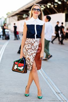 color blocking and layering is going to be big this fall. #streetstyle
