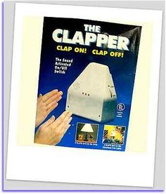 Brand New the CLAPPER Activated Light TV 2X Clap On Off Switch Electronic Gadget