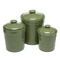 Signature Housewares Sorrento Canister (Set of 3)