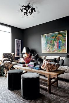 Dark and Moody Interiors | Camille Styles