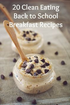 20 Clean Eating Back to School Breakfast Recipes