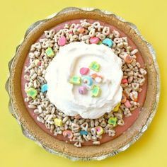 Get the recipe for Lucky Charm Pie.