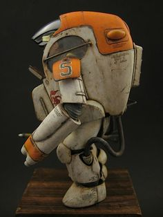 "Ma.K / SF3D / Maschinen Krieger PKA G ""Gustav"" from Wave, built and painted by JSAN9Thompson"