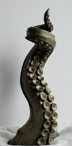 Tentacle Candlestick Holder by Dellamorteco on Etsy, $75.00