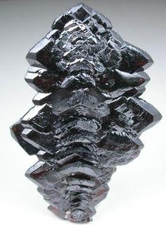 Brown-black arrow-shaped Descloizite from Berg Aukas Mine, Grootfontein, Otavi Mountain Land, Namibia