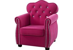 Shop for a Miss Royalty Chair at Rooms To Go Kids. Find  that will look great in your home and complement the rest of your furniture.