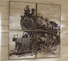 Planked Train Panels | Pottery Barn