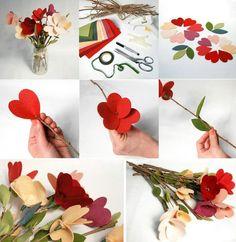 Flor fieltro