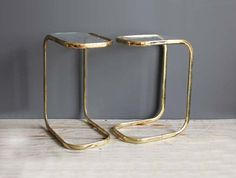 great side tables - brass from Etsy - Gallivanting Girls