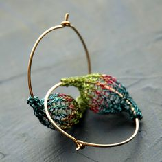 crocheted wire jewelry
