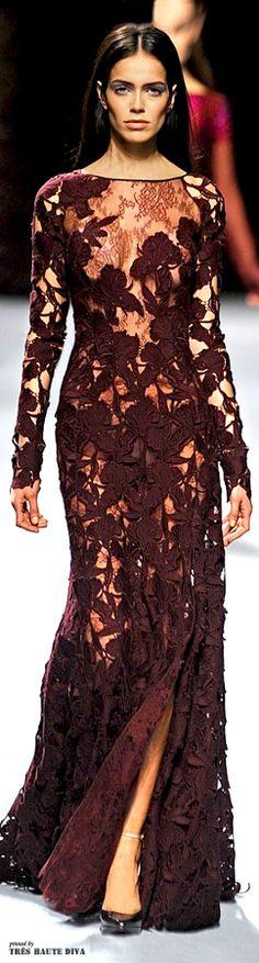 Glamour Gown...#Paris Fashion Week #Nina Ricci Fall 2014 RTW