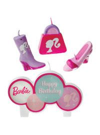 Barbie Party Supplies - Barbie Birthday Party - Party City (Candles)