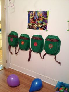 "Ninja Turtle ""shells"""