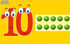 Animated Number Learning Lesson For Preschooler and Kindergartener