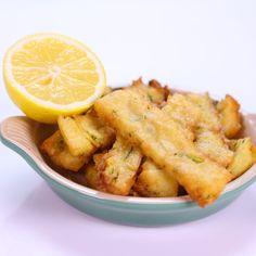the chew | Recipe  | Mario Batali's Chickpea Fries