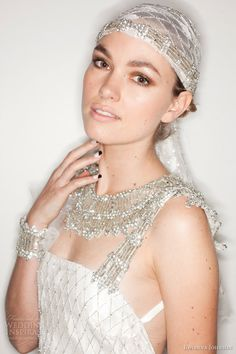 johanna johnson spring 2014 muse bridal collection wedding dresses accessories