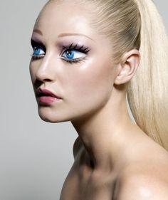 Barbie doll makeup!